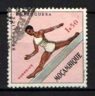 MOZAMBICO - 1962 - SPORT: GINNASTICA - USATO - Mozambique