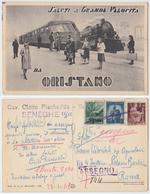 Oristano - Saluti A Grande Velocità Da Oristano - Oristano