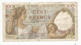 Billet , Cent Francs ,100 , 6-11-1941 , 2 Scans, Frais Fr 1.45 E - 1871-1952 Gedurende De XXste In Omloop