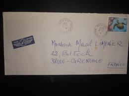 Wallis Et Futuna , Lettre De Mata-utu 1999 Pour Grenoble - Covers & Documents