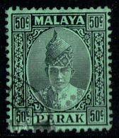 MALAYSIA PERAK 1938 - From Set Used - Perak