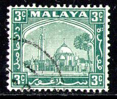 MALAYSIA SELANGOR 1941 - From Set Used - Selangor