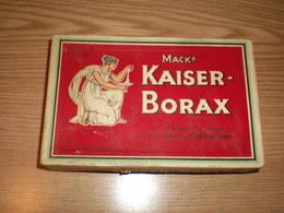 Box Mack Kaiser Borax Old Box With Powder Inside - Scatole