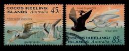 COCOS-ISLANDS 1995 Mi.nr. 332-333  Seevögel  OBLITÉRÉS / USED / GESTEMPELD - Cocos (Keeling) Islands