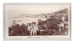 Originale Grande Photo C1900 Menton -  Vue Générale - Photo Panoramique Panorama  - J Giletta - Places