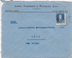 Brief In Die Schweiz (br4561) - Argentinien