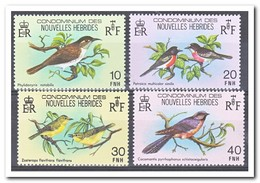 Nieuwe Hebriden 1980, Postfris MNH, Birds - Franse Legende