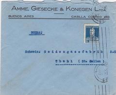 Brief In Die Schweiz (br4564) - Argentinien