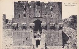SYRIA,syrie,asie,asia,ALEP,patrimoine Classé Par L'unesco,citadelle,corres Pondance Directeur De L'harmonie  Saint Mart - Syrie
