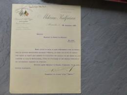 Alexandrie 1902, Steamer Sambre Anvers, KalfaIan, Lettre Autographe Commandant Tornkwist ; 221VP45 - Autographs
