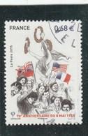 2015 FRANCE 70E ANNIVERSAIRE DU 8 MAI 1945 - OBLITERE YT 4954  -                                   TDA246 - France