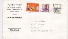 Drucksache In Die Schweiz (br4569) - Corée Du Sud