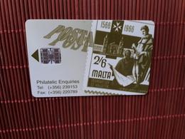 Phonecard Malta 38 Units Used - Malta