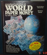 WORLD PAPER MONEY.A.PICK.Fourth Edition.Volume 2.959 Pages.1982 - Livres & Logiciels