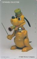 TC Japon / 110-166908 - DISNEY ** Série KITAHARA COLLECTION 6/17 ONE PUNCH ** - Chien Dog Japan Phonecard - Disney