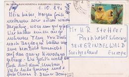 Ansichtskarte In Die Schweiz (br4572) - Bhutan