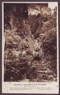 1920s Unused City Of Blue Mountains New South Wales Australia Postcard Scenic Train Railway Katoomba 2 Port Macquarie - Port Macquarie