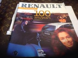 Renault Renault Le Magazine Centenaire 1898 1998 Moteur D Idée - Auto/Moto