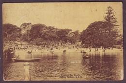 1910s Unused New South Wales Australia Postcard Showing Watsons Bay Beach Sydney Harbour - Sydney