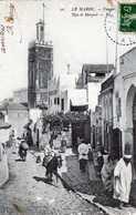 TANGER- 544- Rue Et Mosquée. Carte Adressée à Une Pensionnaire De La Légion D'honneur Aux Loges De St Germain. - Tanger