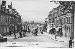 SOMME-ABBEVILLE La Gare Et L'Avenue-MO - Abbeville