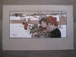 Cpa Litho Illustrateur Parkinson - M. M. Vienne Série 165 - 1904 - Enfants - Parkinson, Ethel
