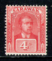 SARAWAK 1918 - From Set MH* - Sarawak (...-1963)