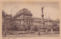AUTRICHE,OSTERREICH,OESTERREICH,VIENNE,WIEN,1922,carte Ancienne Avec Timbre,marcophilie,universitat,tramway,monument - Vienne