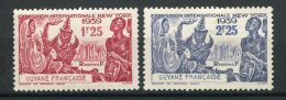 7394   GUYANE   N°  150/1*  Exposition Internationale De New-York   1939   TB - French Guiana (1886-1949)
