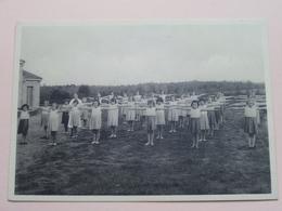 """Preventorium """" Léon Poriniot """" BIEZ Gymnastiekles ( Hance ) Anno 19?? ( Voir Photo Svp ) ! - Grez-Doiceau"""