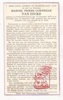 DP Marcel P. Van Eecke ° Passendale Zonnebeke 1872 † 1939 / Leo Paret - Images Religieuses