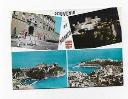 CPSM Souvenir De MONACO Multi-vues 1966 - Monaco