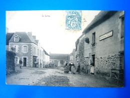 CPA   LE LOREY-LE VILLAGE-ANIMEE - France