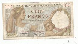 Billet , Cent Francs, 100 , 29-1-1942 , SULLY , 2 Scans, Frais Fr 1.45 E - 1871-1952 Anciens Francs Circulés Au XXème