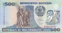 MOZAMBIQUE 500 METICAIS 1991 UNC P 134 - Mozambique