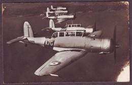 1940s WWII Unused Postcard Showing British Blackburn Skua Aircraft Of The Fleet Air-Arm Aeroplane Dive-Bomber Fighter - 1939-1945: 2. Weltkrieg