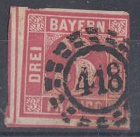 Bayern Minr.9 Gest. Nr.-St. 418 Regensburg - Bayern