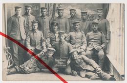 Original Foto - Ypern Ieper Ypres - 1916 - Deutsche Soldaten - X. Korporalschaft - Ieper
