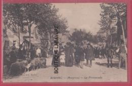 12 - RIGNAC---La Promenade--Marché--moutons--animé - Altri Comuni
