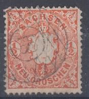 Sachsen Minr.15 Gest. Nr.-St. 81 Schandau - Sachsen