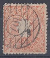 Sachsen Minr.15 Gest. Nr.-St. 107 Wermsdorf - Sachsen