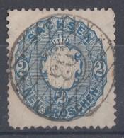 Sachsen Minr.17 Gest. Nr.-St. 93 Luppa-Dahlen - Sachsen