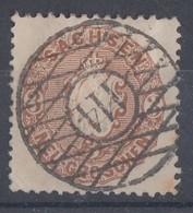 Sachsen Minr.18 Gest. Nr.-St. 114 Eybau - Sachsen