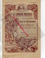 87 - LIMOGES- BULLETIN MENSUEL LE LIMOUSIN MILITAIRE 9 E REGION- GENERAL DOSSE-BON TABAC-1937- CHRENTE-DORDOGNE-CORREZE- - Documents Historiques