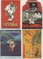CP - Publicité - Réglisse - Savons- Cirage - Divers - Repro D'Affiches - LOT 8 Pc - - Advertising