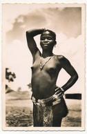 CPSM - Afrique Noire - OUBANGUI (A.E.F) - Type De Jeune Fille Baya - Autres
