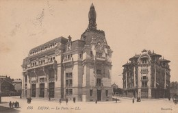 Dép. 21 - DIJON. - La Poste. Circulée. LL N° 186. Selecta - Dijon