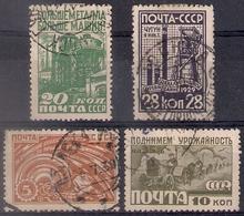 Russia 1929, Michel Nr 379-82, Used - 1923-1991 USSR