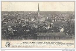 NIVELLES ..-- Brt Wall. ..-- Vue D' Ensemble .  1921 Vers BRUXELLES ( Melle GOOSSENS ) . Voir Verso . - Nivelles