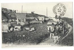 AUVERGNE Sa Majesté LÉOPOLD II Excursionne Au Sommet Du Puy De Dôme 1912 - Belle Animation - Cachet De L'Observatoire - France